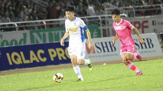 Xuân Trường vẫn là tiền vệ tài hoa bậc nhất của bóng đá Việt Nam (ảnh: Trọng Vũ)