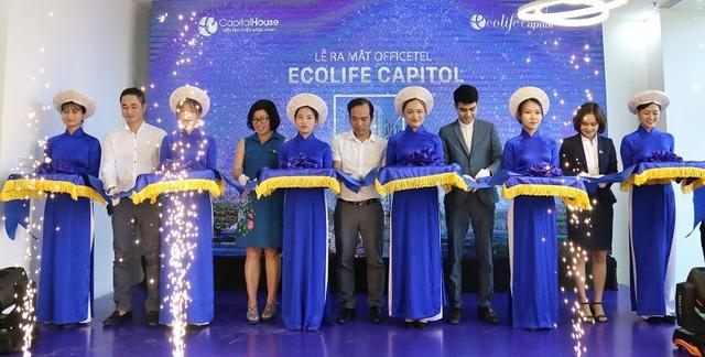 Lễ ra mắt căn hộ officetel EcoLife Capitol thu hút đông đảo khách hàng tham dự
