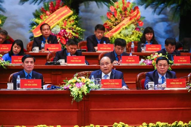 Thủ tướng Nguyễn Xuân Phúc đã gợi mở và chia sẻ nhiều ý kiến tại Đại Hội. (Ảnh: ST)