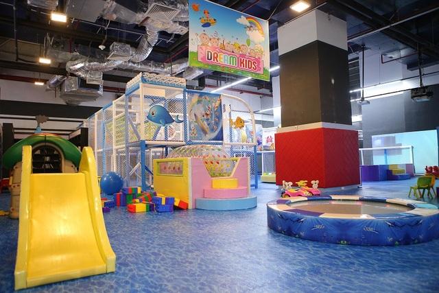 Khu Dream Kids dành riêng cho trẻ dưới 3 tuổi.