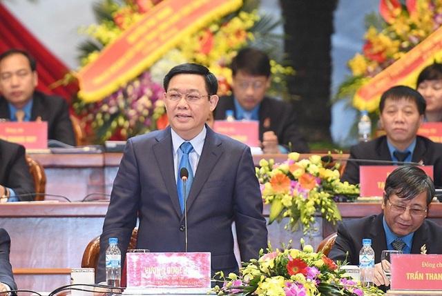 Phó Thủ tướng Vương Đình Huệ tại Đại hội Công Đoàn Việt Nam lần thứ XII
