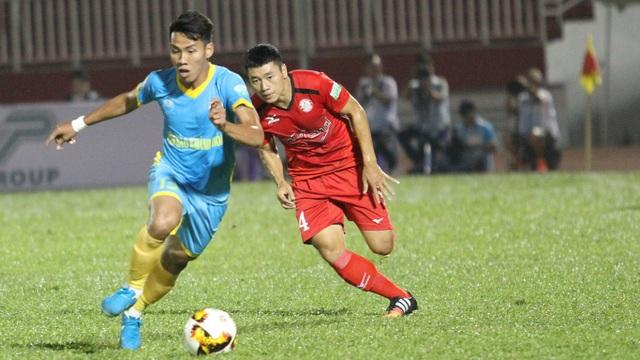 Quốc Chí đã chơi cực hay suốt cả mùa giải 2018, nhưng khả năng anh vẫn không có tên trong thành phần đội tuyển quốc gia (ảnh: Trọng Vũ)