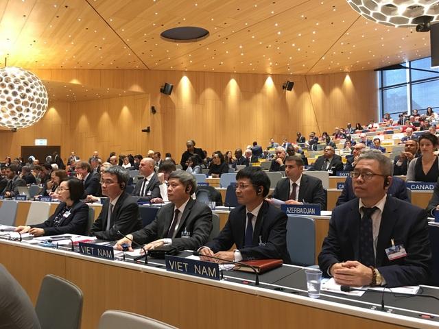 Đoàn Việt Nam dự họp Đại hội đồng WIPO lần thứ 58.