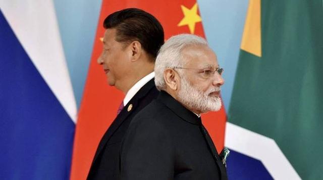 Chủ tịch Tập Cận Bình và Thủ tướng Ấn Độ Narendra Modi (Ảnh: Reuters)