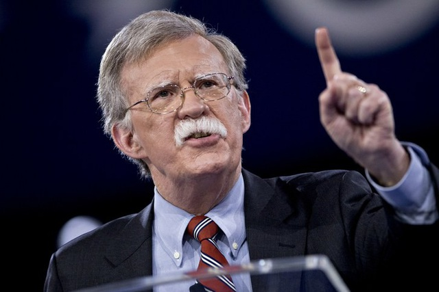 Cố vấn An ninh Quốc gia Mỹ John Bolton (Ảnh: Bloomberg)