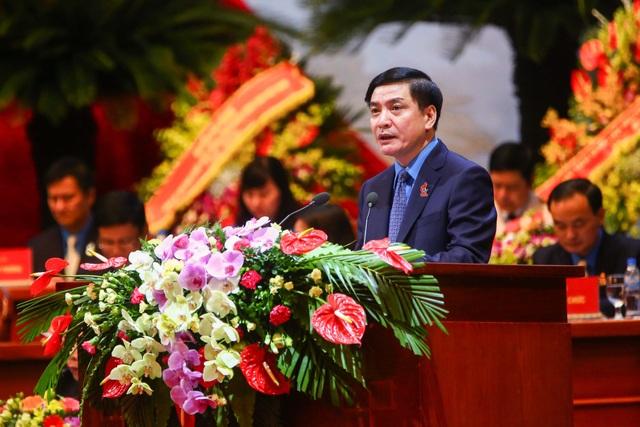 Đồng chí Bùi Văn Cường tái đắc cử Chủ tịch Tổng LĐLĐ VN khóa XII