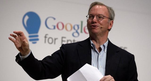 Eric Schmidt, cựu CEO Google, tin vào viễn cảnh Internet bị chia làm hai nửa riêng biệt.