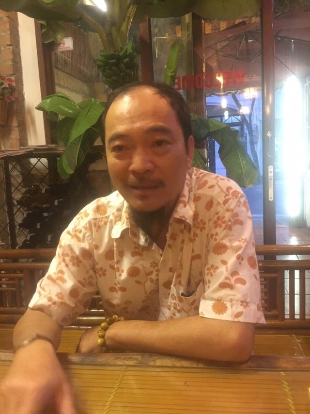 Nghệ sĩ Vũ Quốc Tuấn từng có nhiều năm gắn bó với Hãng phim truyện Việt Nam. Ảnh: Tùng Long.