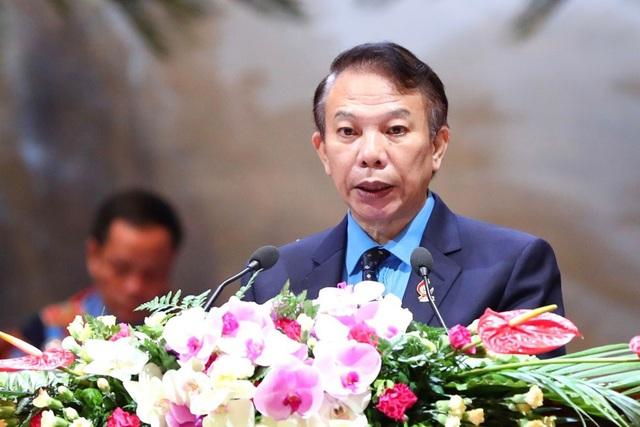Phó Chủ tịch Tổng LĐLĐVN Mai Đức Chính. Ảnh: Hải Nguyễn.
