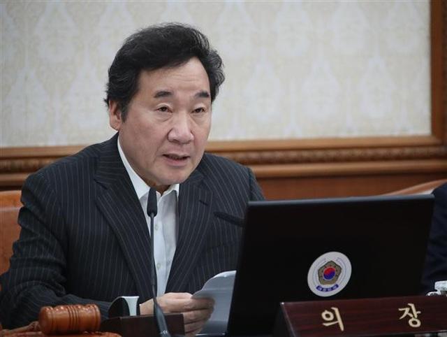 Trong ảnh (tư liệu): Thủ tướng Lee Nak-yon trong cuộc họp tại thủ đô Seoul ngày 4/9/2018. Ảnh: Yonhap/ TTXVN