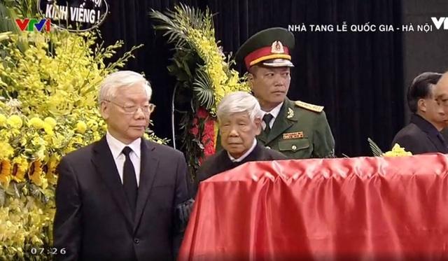 Lễ viếng Chủ tịch nước Trần Đại Quang - 26