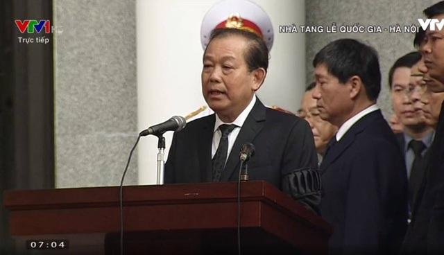 Phó Thủ tướng Trương Hoà Bình sơ lược tiểu sử Chủ tịch nước Trần Đại Quang.