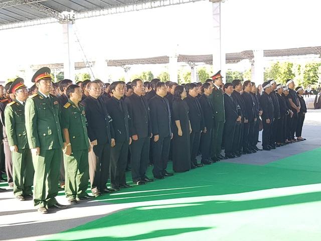 Hình ảnh lễ viếng tại quê nhà Ninh Bình. (Ảnh: Thái Bá)