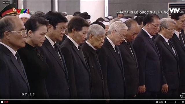 Lễ viếng Chủ tịch nước Trần Đại Quang - 1