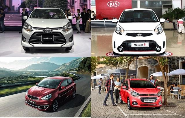 Xe nhỏ bình dân - Bạn chọn thương hiệu nào? - 1