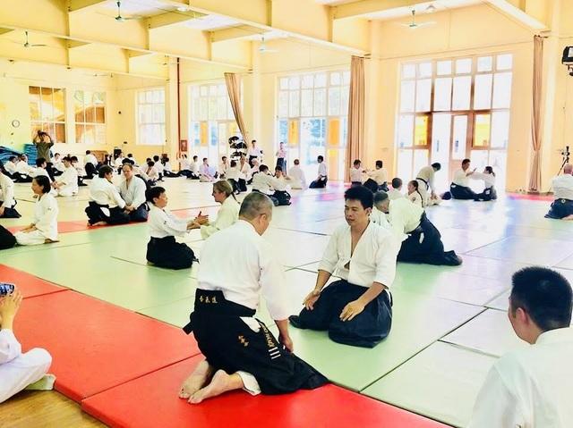 Tập huấn Aikido hữu nghị Châu Á lần thứ 6: Nhiều võ sư Aikido đẳng cấp thế giới tham gia - 6