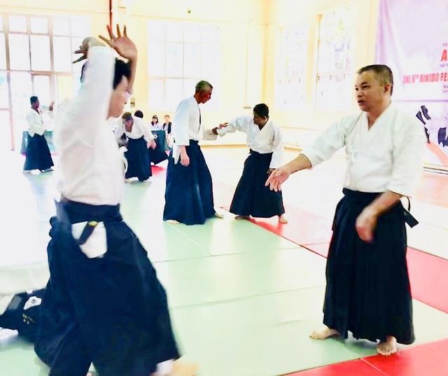 Tập huấn Aikido hữu nghị Châu Á lần thứ 6: Nhiều võ sư Aikido đẳng cấp thế giới tham gia - 7