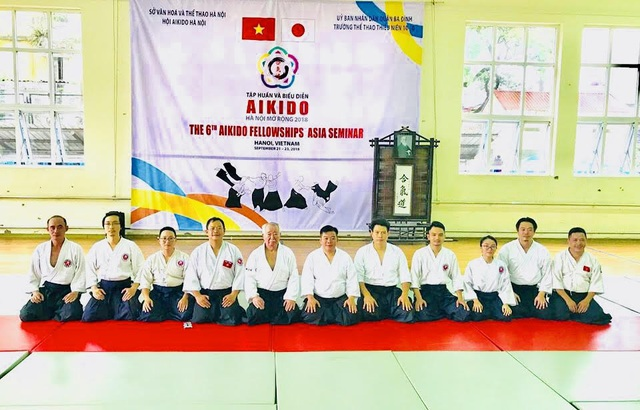 Tập huấn Aikido hữu nghị Châu Á lần thứ 6: Nhiều võ sư Aikido đẳng cấp thế giới tham gia - 9