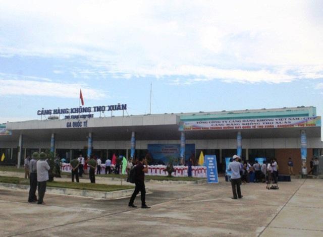 Nhà ga quốc tế của Cảng hàng không Thọ Xuân