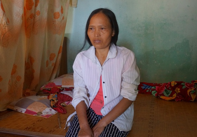 Bà Nguyễn Thị Hoa, ở xã Thiệu Chính, huyện Thiệu Hóa.