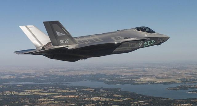 Máy bay chiến đấu F-35 (Ảnh: Sputnik)