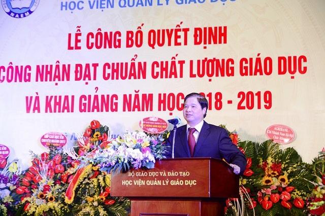 GS.TS Phạm Quang Trung, Giám đốc Học viện Quản lý giáo dục