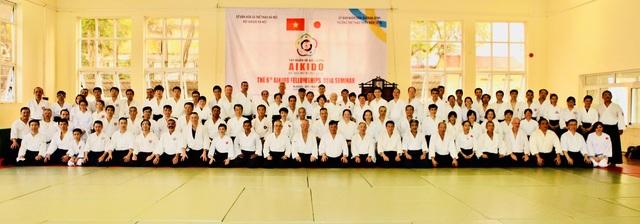 Tập huấn Aikido hữu nghị Châu Á lần thứ 6: Nhiều võ sư Aikido đẳng cấp thế giới tham gia - 1