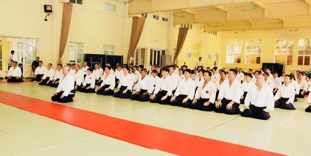 Tập huấn Aikido hữu nghị Châu Á lần thứ 6: Nhiều võ sư Aikido đẳng cấp thế giới tham gia - 3