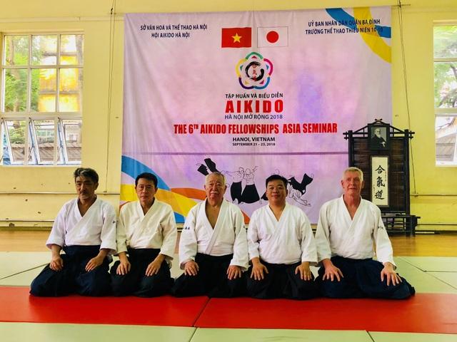 Tập huấn Aikido hữu nghị Châu Á lần thứ 6: Nhiều võ sư Aikido đẳng cấp thế giới tham gia - 4