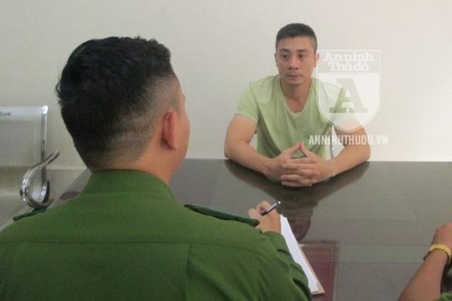 Là người tập luyện thể hình, có sức khỏe rất tốt, song đối tượng Hưng nhanh chóng bị chiến sĩ CSCĐ khuất phục