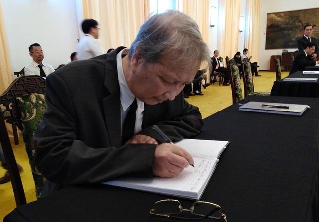 Ông Đặng Việt Bích vẫn luôn gọi Chủ tịch nước Trần Đại Quang là Đại tướng