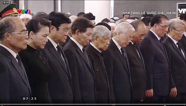 Toàn cảnh Lễ viếng Chủ tịch nước Trần Đại Quang - 5