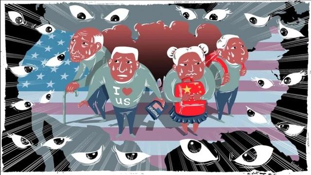 Người Mỹ gốc Hoa dường như bế tắc trong bối cảnh căng thẳng Mỹ-Trung leo thang (Ảnh minh họa: SCMP)