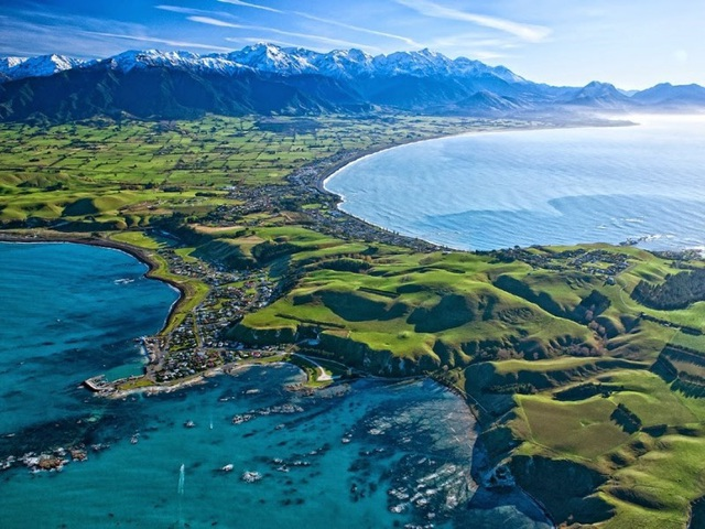 Du khách được tận hưởng nhiều hoạt động ngoài trời thú vị khi đến với Kaikoura, New Zealand