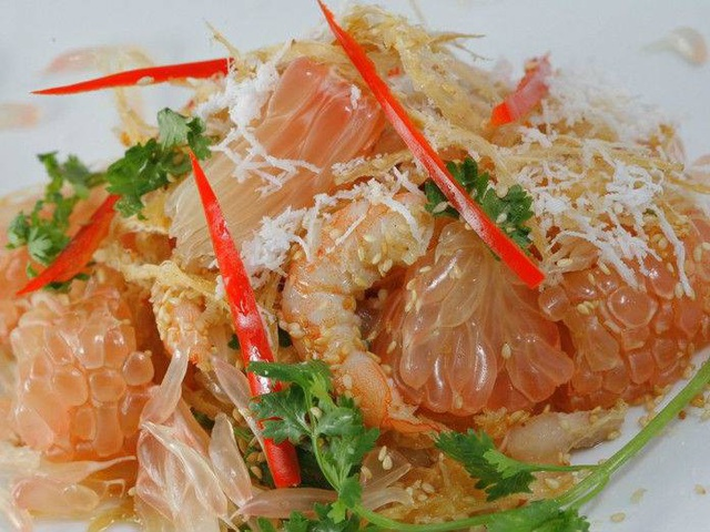 Gỏi bưởi - món ăn độc đáo ở Đồng Nai