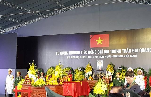 Chủ tịch nước Trần Đại Quang đã an nghỉ tại quê nhà - 32