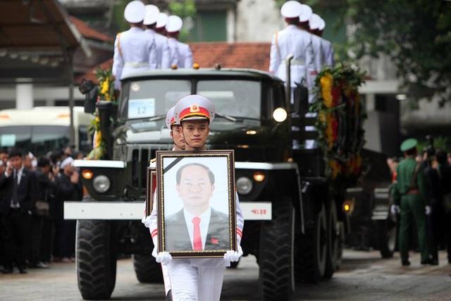 Lễ truy điệu trang trọng tại tang lễ Chủ tịch nước Trần Đại Quang - 9