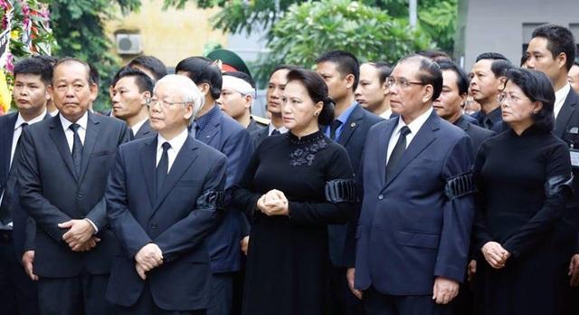 Lễ truy điệu trang trọng tại tang lễ Chủ tịch nước Trần Đại Quang - 10