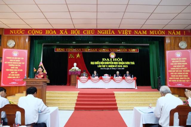 Đại hội Hội Khuyến học quận Sơn Trà, Đà Nẵng lần thứ V, nhiệm kỳ vừa diễn ra trong ngày 27/9
