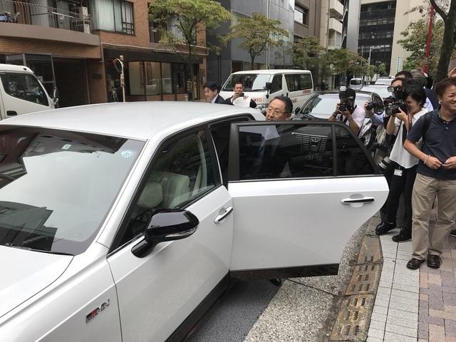 Chiếc xe thuộc sở hữu của Toyota