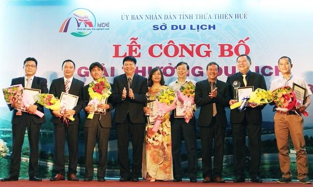 7 đơn vị Lữ hành hàng đầu tỉnh Thừa Thiên Huế nhận giải thưởng