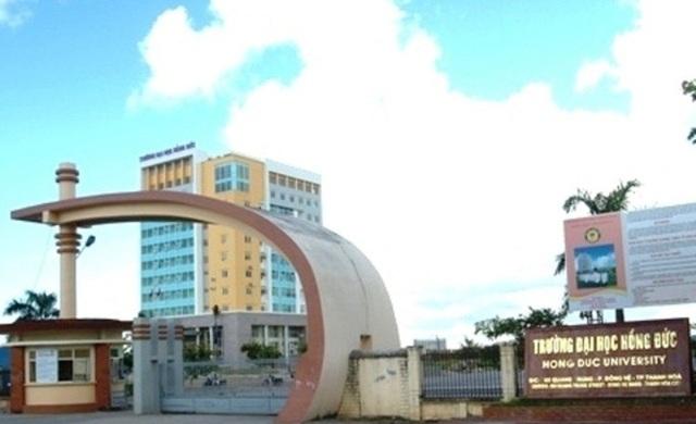 Tỉnh Thanh Hóa đặt hàng Trường đại học Hồng Đức đào tạo 4 ngành sư phạm chất lượng cao trình độ đại học.