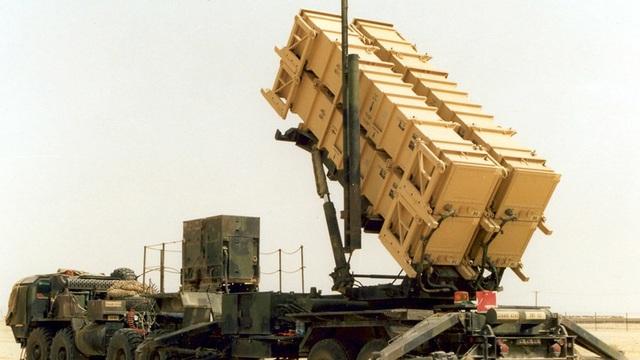 Hệ thống tên lửa Patriot của Mỹ tại Kuwait (Ảnh: Reuters)