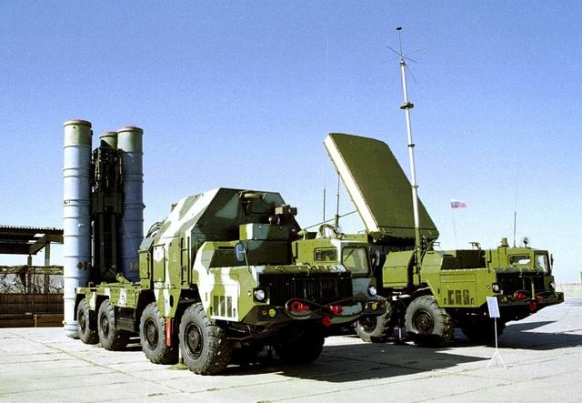 Hệ thống phòng không S-300 của Nga (Ảnh: Sputnik)