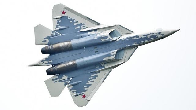 Máy bay chiến đấu Su-57 của Nga (Ảnh: Sputnik)