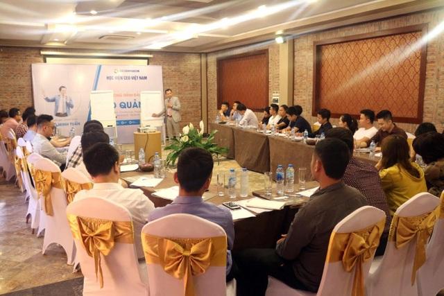 Ông Ngô Minh Tuấn là chuyên gia huấn luyện cho cấp lãnh đạo các Doanh nghiệp, người sẽ trực tiếp định hướng nghề nghiệp tại các trường THPT năm 2018 - 2019.