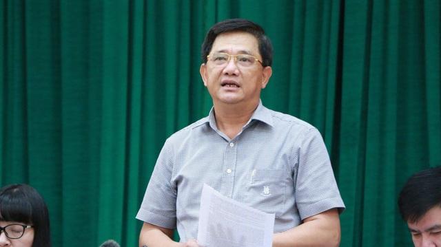 Tại buổi giao ban Thành ủy Hà Nội chiều 25/9, ông Phạm Xuân Tiến, Phó Giám đốc Sở GD&ĐT Hà Nội cho biết, các trường không đủ năng lực để tự thực hiện sữa học đường. (Ảnh: Đ.T)