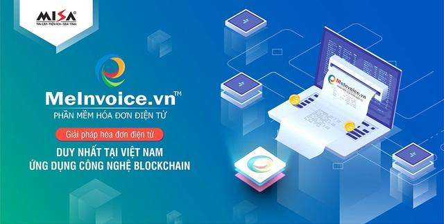 MeInvoice.vn – Giải pháp hóa đơn điện tử duy nhất tại Việt Nam ứng dụng công nghệ Blockchain