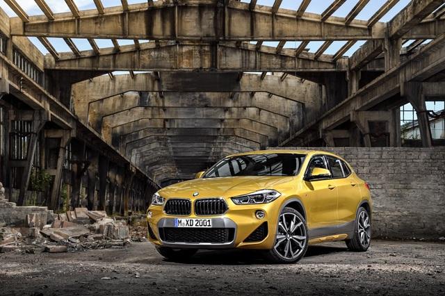 Mẩu xe BMW X2 lần đầu tiên ra mắt tại Việt Nam