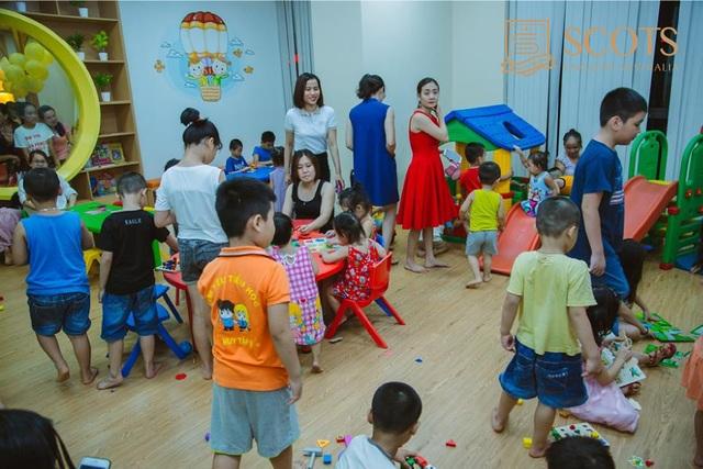 Các bé sẽ được tham gia nhiều hoạt động vui chơi bổ ích và nhận được nhiều phần quà hấp dẫn.